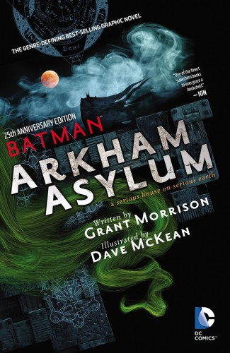 BATMAN ARKHAM ASYLUM 25TH ANNIVERSARY DELUXE EDITION HARDCOVER