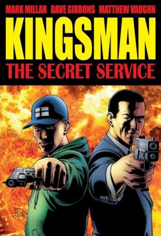 SECRET SERVICE KINGSMAN HARDCOVER