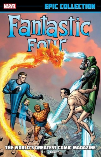 FANTASTIC FOUR EPIC COLLECTION WORLDS GREATEST COMIC MAGAZINE GRAPHIC NOVEL