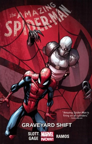AMAZING SPIDER-MAN VOLUME 4 GRAVEYARD SHIFT GRAPHIC NOVEL