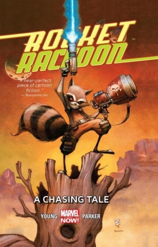 ROCKET RACCOON VOLUME 1 A CHASING TALE GRAPHIC NOVEL