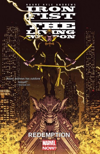 IRON FIST LIVING WEAPON VOLUME 2 REDEMPTION GRAPHIC NOVEL