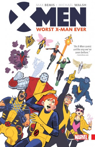 X-MEN WORST X-MAN EVER GRAPHIC NOVEL