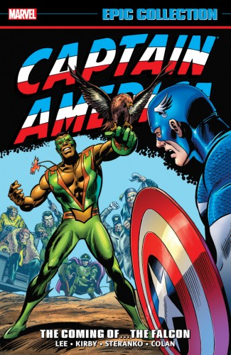 CAPTAIN AMERICA EPIC COLLECTION THE COMING OF THE FALCON GRAPHIC NOVEL