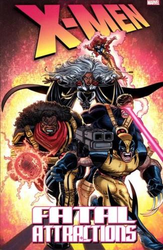 X-MEN FATAL ATTRACTIONS GRAPHIC NOVEL