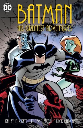 BATMAN HIS GREATEST ADVENTURES GRAPHIC NOVEL