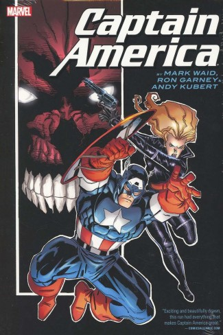 CAPTAIN AMERICA BY WAID AND GARNEY OMNIBUS HARDCOVER