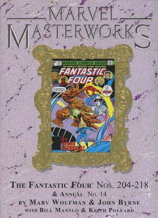 MARVEL MASTERWORKS FANTASTIC FOUR VOLUME 19 DM VARIANT #253 EDITION HARDCOVER