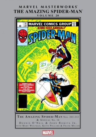 MARVEL MASTERWORKS AMAZING SPIDER-MAN VOLUME 20 HARDCOVER
