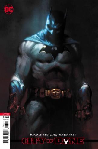 BATMAN #76 (2016 SERIES) CARD STOCK VARIANT