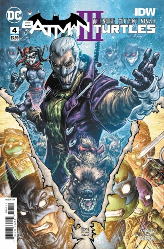 BATMAN TEENAGE MUTANT NINJA TURTLES III #4