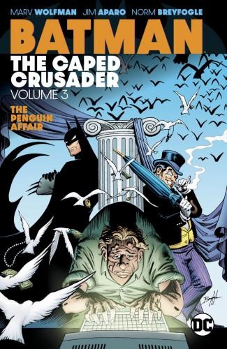 BATMAN THE CAPED CRUSADER VOLUME 3 GRAPHIC NOVEL