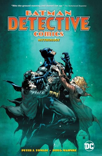 BATMAN DETECTIVE COMICS VOLUME 1 MYTHOLOGY HARDCOVER