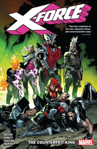 X-FORCE VOLUME 2 COUNTERFEIT KING GRAPHIC NOVEL