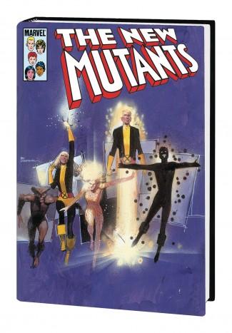 NEW MUTANTS OMNIBUS VOLUME 1 SIENKIEWICZ COVER