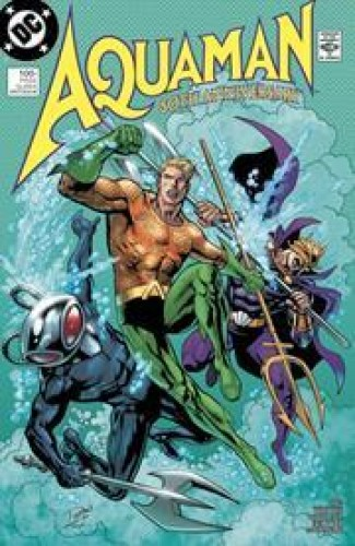 AQUAMAN 80TH ANNIVERSARY 100-PAGE SUPER SPECTACULAR #1 COVER F CHUCK PATTON & KEVIN NOWLAN 1980S