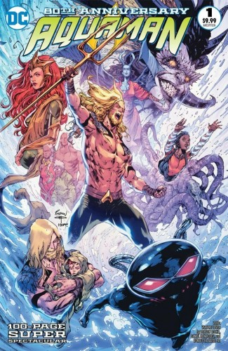 AQUAMAN 80TH ANNIVERSARY 100-PAGE SUPER SPECTACULAR #1 COVER I ROBSON ROCHA 2010S