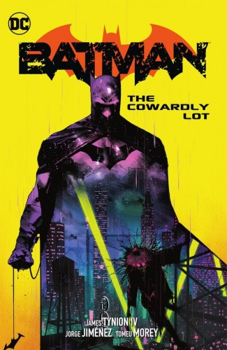 BATMAN VOLUME 4 THE COWARDLY LOT HARDCOVER