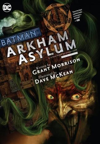 BATMAN ARKHAM ASYLUM DELUXE EDITION HARDCOVER