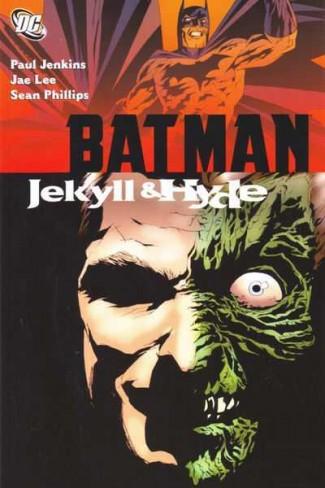 BATMAN JEKYLL AND HYDE GRAPHIC NOVEL