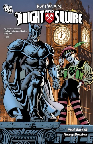 BATMAN KNIGHT AND SQUIRE GRAPHIC NOVEL