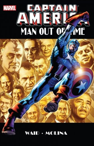 CAPTAIN AMERICA MAN OUT OF TIME HARDCOVER
