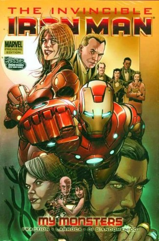 INVINCIBLE IRON MAN VOLUME 7 MY MONSTERS HARDCOVER