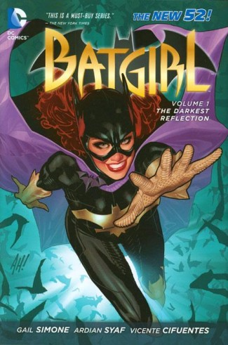 BATGIRL VOLUME 1 THE DARKEST REFLECTION HARDCOVER