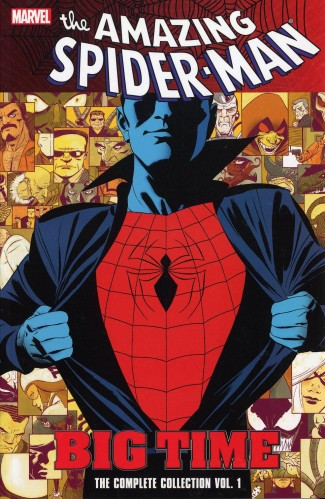 SPIDER-MAN BIG TIME VOLUME 1 COMPLETE COLLECTION GRAPHIC NOVEL