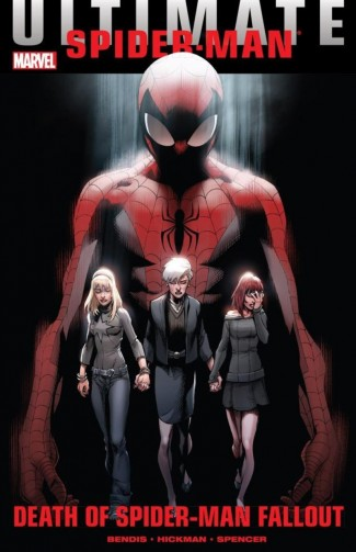 ULTIMATE COMICS SPIDER-MAN DEATH OF SPIDER-MAN FALLOUT GRAPHIC NOVEL