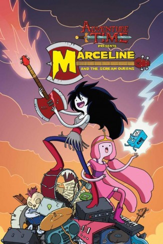 ADVENTURE TIME MARCELINE AND THE SCREAM QUEENS GRAPHIC NOVEL