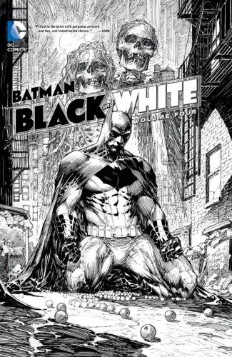 BATMAN BLACK AND WHITE VOLUME 4 HARDCOVER