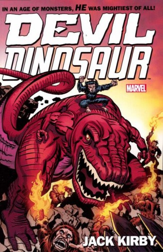 DEVIL DINOSAUR BY JACK KIRBY COMPLETE COLLECTION GRAPHIC NOVEL