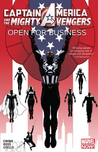 CAPTAIN AMERICA AND THE MIGHTY AVENGERS VOLUME 1 OPEN FOR BUSINESS GRAPHIC NOVEL
