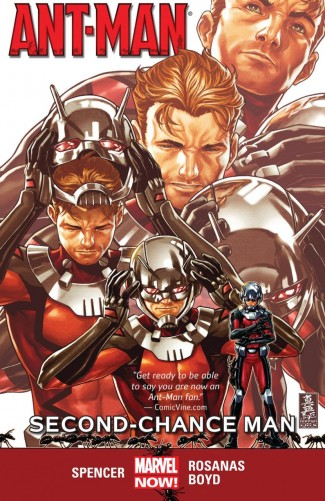 ANT-MAN VOLUME 1 SECOND CHANCE MAN GRAPHIC NOVEL