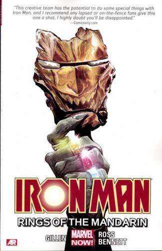 IRON MAN VOLUME 5 RINGS OF THE MANDARIN GRAPHIC NOVEL