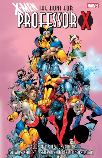 X-MEN THE HUNT FOR PROFESSOR X GRAPHIC NOVEL