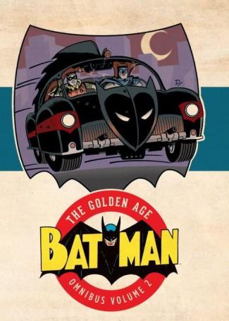 BATMAN THE GOLDEN AGE OMNIBUS VOLUME 2 HARDCOVER