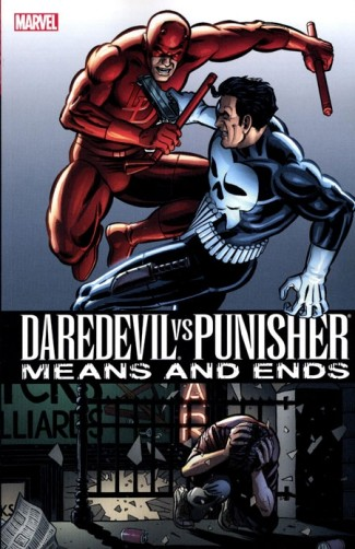 DAREDEVIL VS PUNISHER MEANS AND ENDS GRAPHIC NOVEL