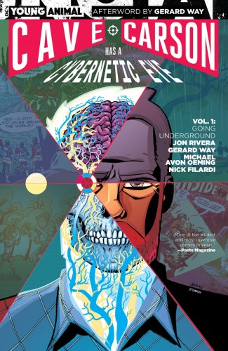 CAVE CARSON HAS A CYBERNETIC EYE VOLUME 1 GOING UNDERGROUND GRAPHIC NOVEL