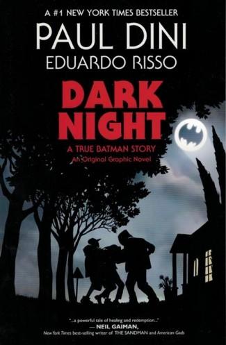 DARK NIGHT A TRUE BATMAN STORY GRAPHIC NOVEL
