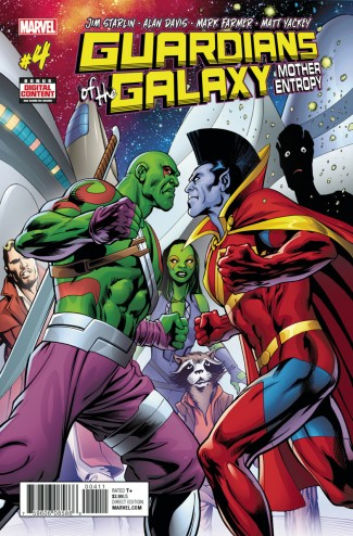 GUARDIANS OF THE GALAXY MOTHER ENTROPY #4