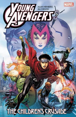 YOUNG AVENGERS BY HEINBERG AND CHEUNG THE CHILDRENS CRUSADE GRAPHIC NOVEL