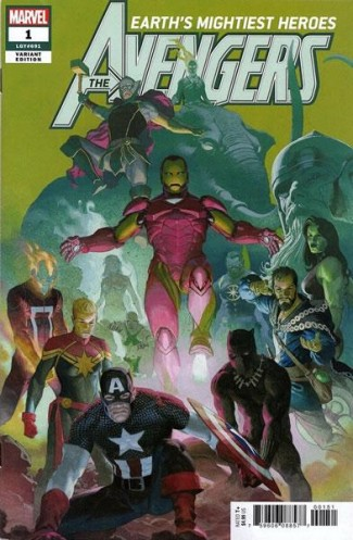 AVENGERS #1 (2018 SERIES) 1 IN 50 INCENTIVE RIBIC VARIANT