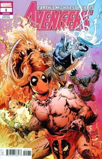 AVENGERS #1 (2018 SERIES) LAND PARTY VARIANT