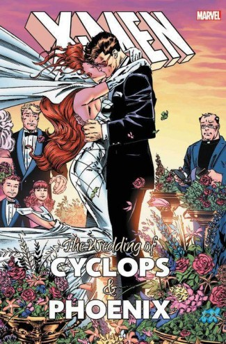 WEDDING OF CYCLOPS AND PHOENIX HARDCOVER
