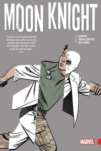 MOON KNIGHT BY JEFF LEMIRE AND GREG SMALLWOOD HARDCOVER