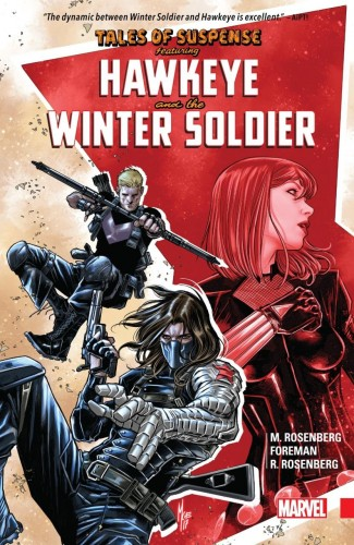 TALES OF SUSPENSE HAWKEYE AND WINTER SOLDIER GRAPHIC NOVEL