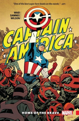 CAPTAIN AMERICA BY WAID AND SAMNEE VOLUME 1 HOME OF THE BRAVE GRAPHIC NOVEL