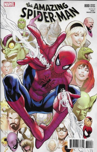AMAZING SPIDER-MAN #800 LAND VARIANT